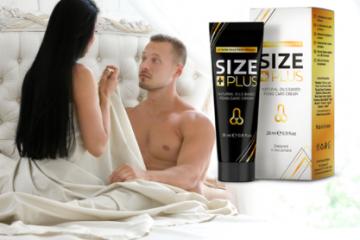 Size Plus – con un pene más grande y duro volverás locas a todas las mujeres